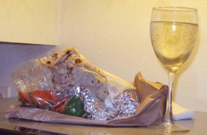 Burrito from Los Potros